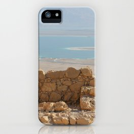 ABOVE THE DEAD SEA iPhone Case