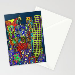 Skyscrapers Stationery Cards
