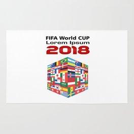 Russia - FIFA World CUP 2018 - Model 1 Rug