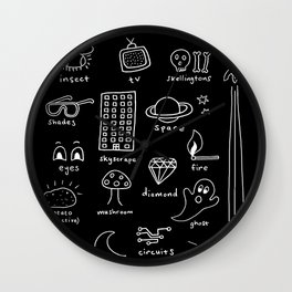 Things that Glow Wall Clock