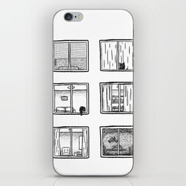 Every Window is A Story iPhone Skin