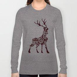 ornamental stag Long Sleeve T-shirt
