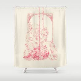 Lady Bunny Shower Curtain
