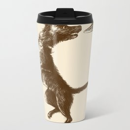 Flying Disc Metal Travel Mug