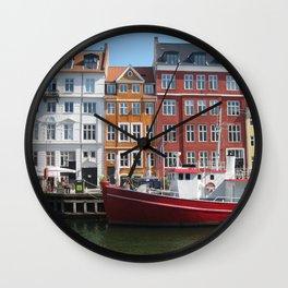 Nyhavn, Copenhagen Wall Clock