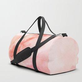 Warm pink waters Duffle Bag