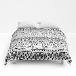 African Tribal Mudcloth Comforters