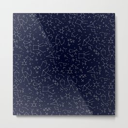 Chemicals and Constellations Metal Print