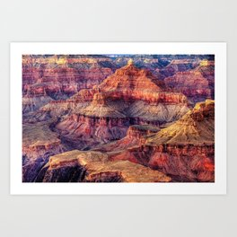 View of the Grand Canyon Art Print