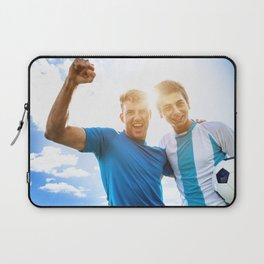 Argentine Soccer players scoring Laptop Sleeve