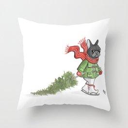Franco's Cristmas Throw Pillow