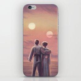 Twin Suns iPhone Skin