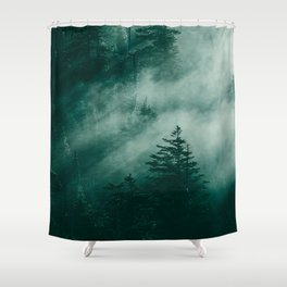 The Beckoning of the Unknown Shower Curtain