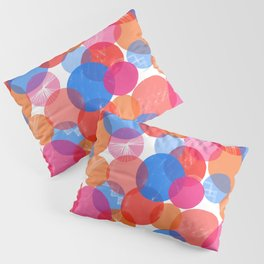Bauhaus Bubbles - by Kara Peters Pillow Sham