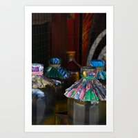 indonesia Art Prints featuring Indonesia by Maryse Kok