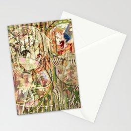 Jeune fille de joie usine (Factory girl joy) (2) Stationery Cards