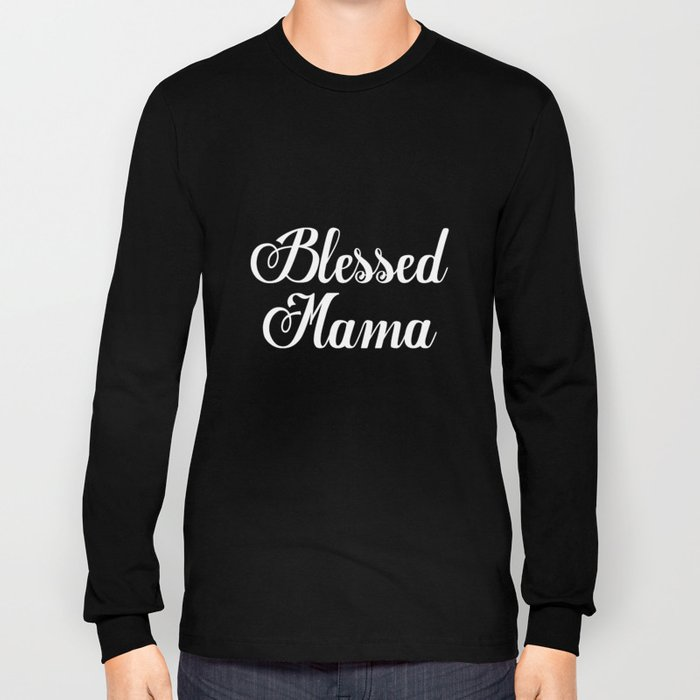 0c6e6a502 Blessed Mama Mom trendy tees Mom Life Vneck Mama Ladies Mom Gift Idea Baby  Shower Gift