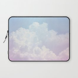 Dreamy Cotton Blue Sky Laptop Sleeve