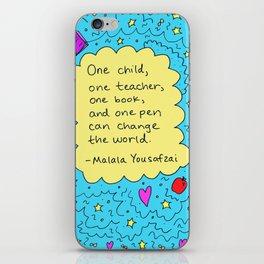 Malala iPhone Skin