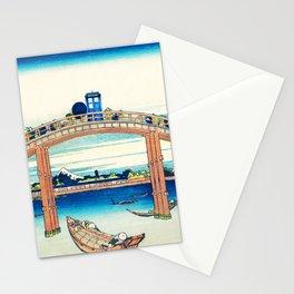Tardis At The Bridge Stationery Cards