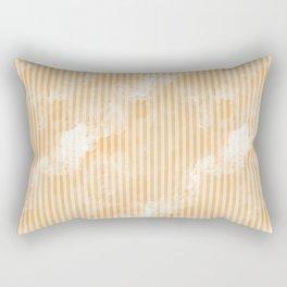 Degrade Brown Vertical Lines Rectangular Pillow