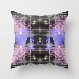 stars center Throw Pillow