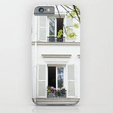 White, white windows iPhone 6s Slim Case