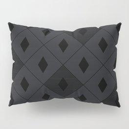 Harlequins - Midnight Black Pillow Sham