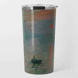 """Claude Monet """"Impression, Sunrise"""" Travel Mug"""