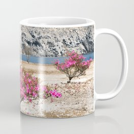 Azaleas in dry land Coffee Mug