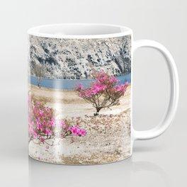 Azaleas in dry land Coffee Mug