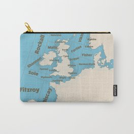 meteorological Shipping forecast. Carry-All Pouch