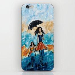Rainy Day Blues iPhone Skin