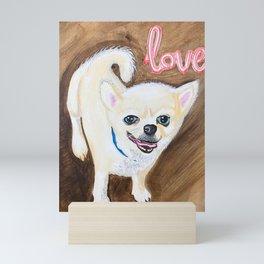 for the Love of a Mutt Dog Mini Art Print