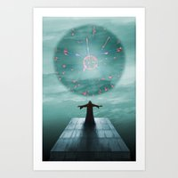 nordic Art Prints featuring Nordic magician by Tony Vazquez