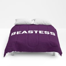Beastess Gym Quote Comforters