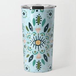 Turquoise Desire Travel Mug