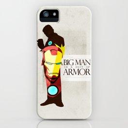 Suit of Armor : Iron Man iPhone Case