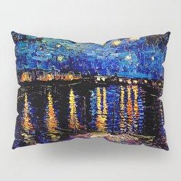 Over the rhone(starry night) Pillow Sham