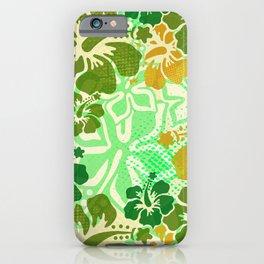 Hawaiian Hibiscus Decor iPhone Case