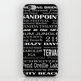 sandpoint, idaho iPhone Skin