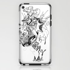 Ink Entanglement iPhone & iPod Skin