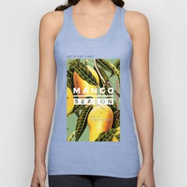 Mango Season #society6 #decor #buyart Unisex Tank Top