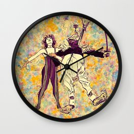 Let Us Dance the Night Away Wall Clock