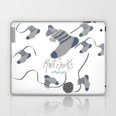 Knit Socks Laptop & iPad Skin