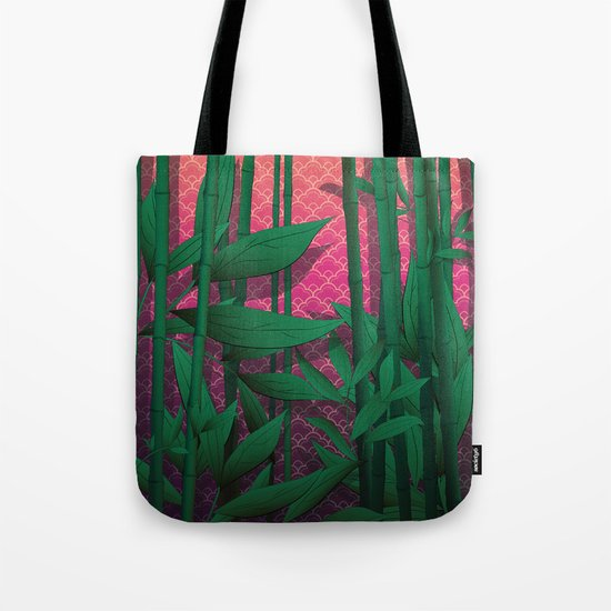 Japanese Sunset Tote Bag