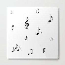 Sheet music Metal Print