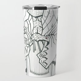 B&W Moshiach Travel Mug