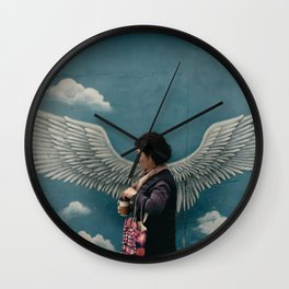 Street Angel Wall Clock