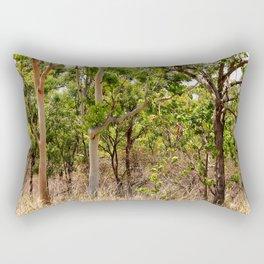 Beautiful forest regrowth Rectangular Pillow